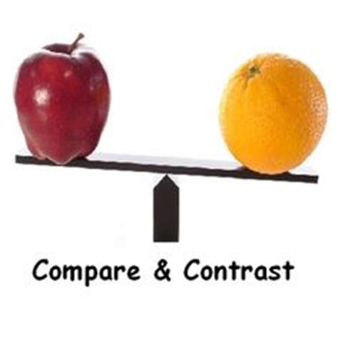 Compare and contrast essay two teachers